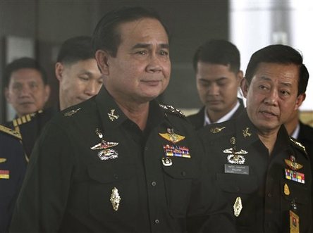 Thai Junta Lifts post-Coup Curfew — Naharnet