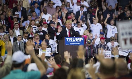 Trump Says 'Ridiculous' to Compare Pledge to Nazi Salute ...