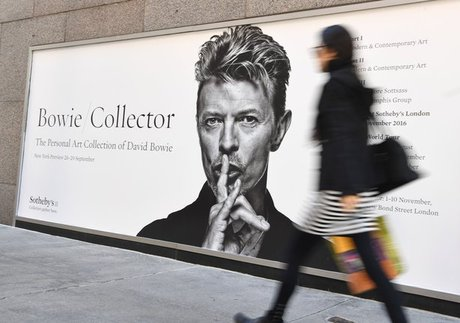 Bowie artworks bought for $30 million in first round of auction