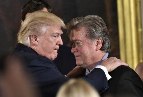 Trump comments worry Bannon's populist base