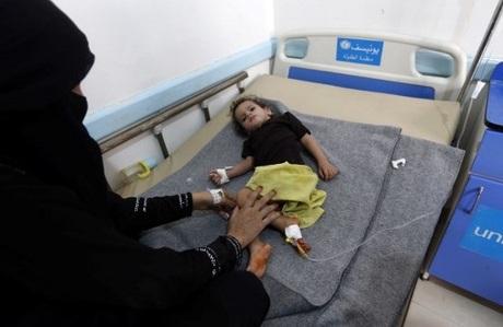 Cholera epidemic rages across war-torn Yemen