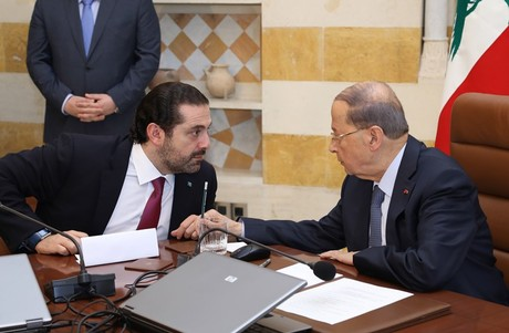 Lebanon's PM Hariri withdraws his resignation