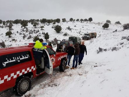 Nine Syrians freeze to death while crossing to Lebanon