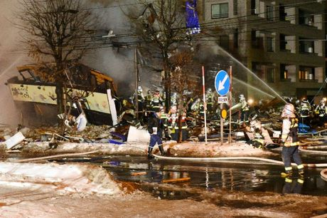 Sapporo blast latest blow to Japan in 'Year of Disaster'
