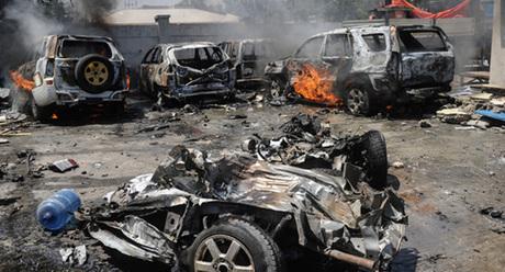 Blast heard in Somali capital Mogadishu