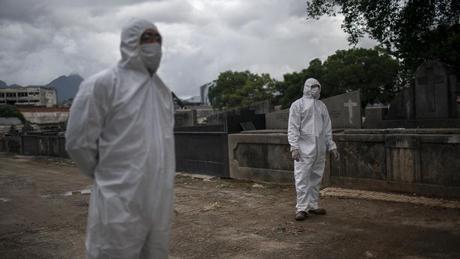 Brazil surpasses 10,000 coronavirus deaths