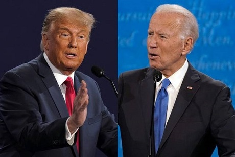Biden at 248 Electoral Votes, Trump at 214