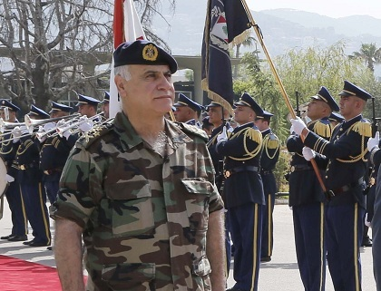 Army Chief Gen Jean Qahwaji Has Accused The Islamic State Group Of Seeking To Ignite Civil War In Lebanon And Relying On Sleeper Cells Northern