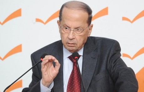 Aoun Urges 'Distribution of Burden' of Syrian Refugees and Wounded